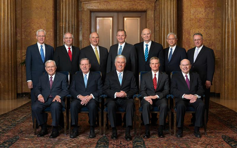 QUORUM OF THE TWELVE 2018 OFFICIAL PORTRAIT